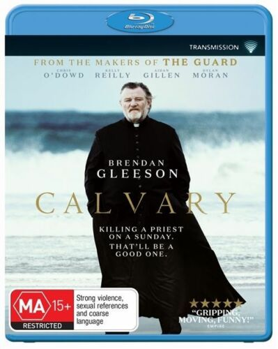 1 of 1 - Calvary (Brendon Glleson) - New/Sealed Blu Ray Region B