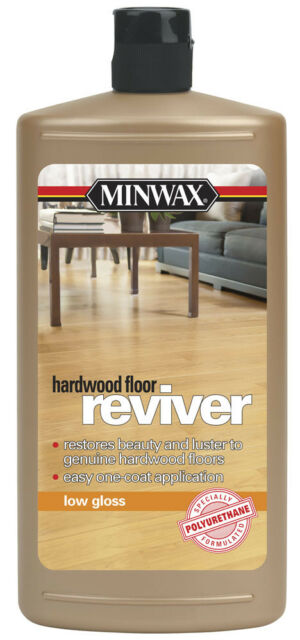 Minwax 609604444 Hardwood Floor Reviver 32 Ounce Low Gloss For