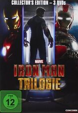 3 DVDs * IRON MAN TRILOGIE 1  2  3  COLLECTOR'S EDITION BOX # NEU OVP $