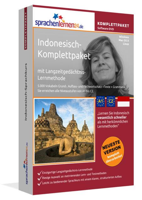 INDONESISCH lernen von A bis Z - Sprachkurs-Komplett-DVD