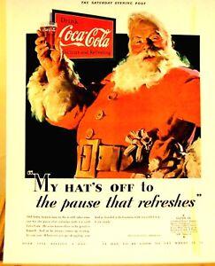 594ms-Bebida-Coca-Cola-Santa-Claus-Color-Poster-Poster-27-9cmX43-2cm-N0-006