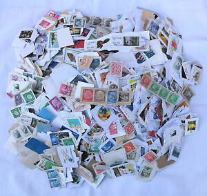 2KG-USED-FOREIGN-KILOWARE-CHARITY-COLLECTED-STAMPS-NO-GB-ON-PAPER