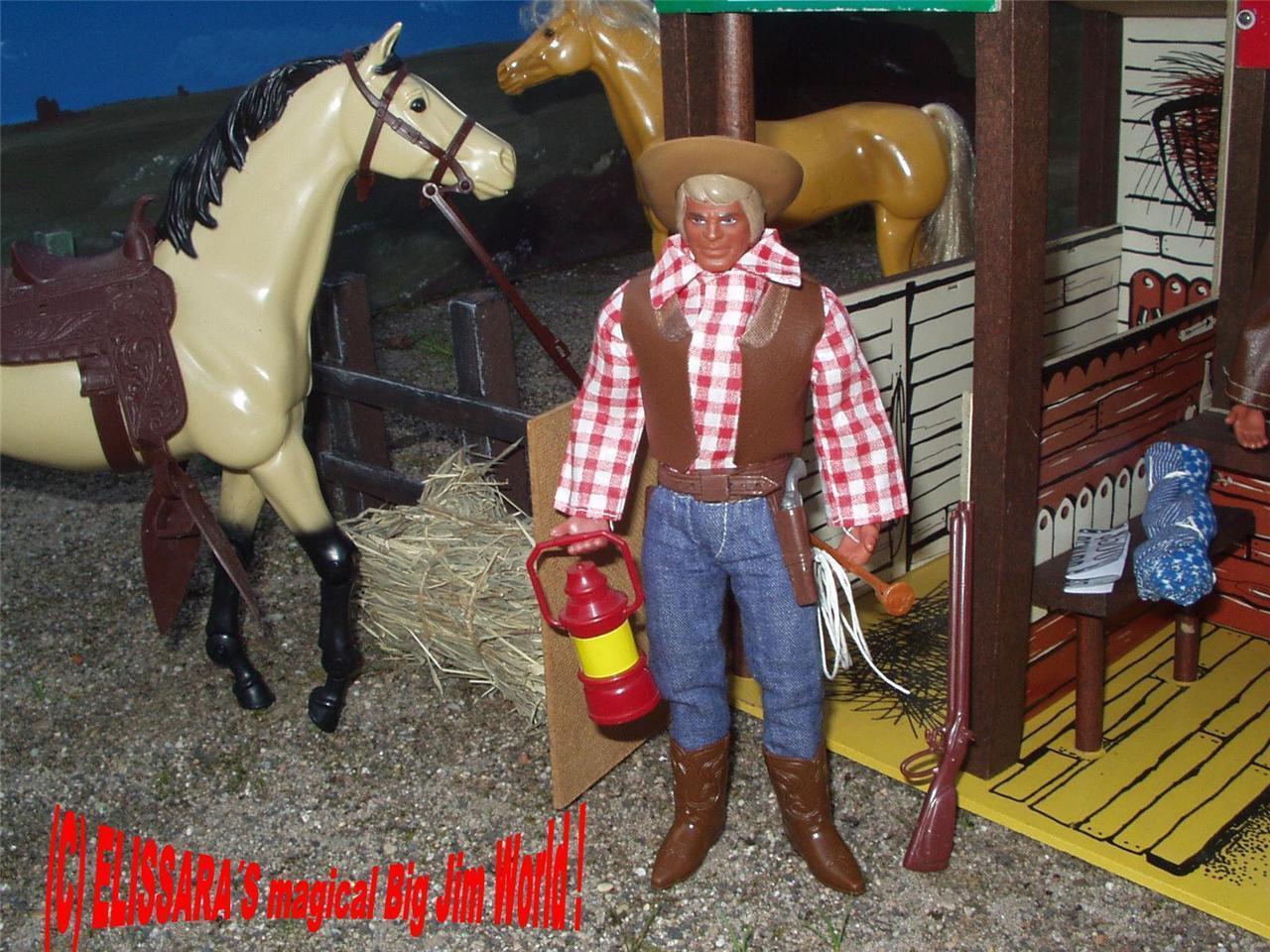 Big Jim, Karl May Winnetou, kund av CoWboy med varumärke Västra Mattel