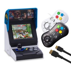 NEOGEO-Mini-Complete-Bundle-Console-with-40-games-2-x-Controllers-HDMI
