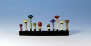 28mm fantasy mushrooms for basing and terrain d/&d oldhammer AOS etc