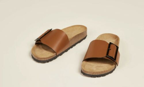 Intentionally Blank Claire  Sandal Tan size 7 - image 1