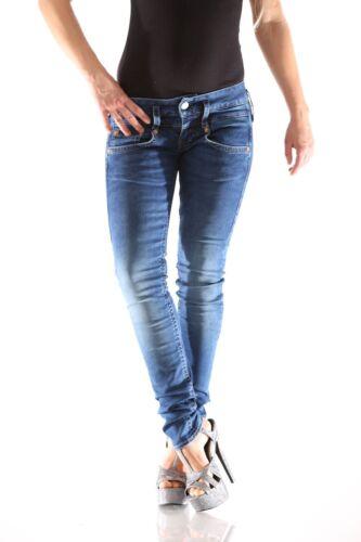 Herrlicher pitch-Slim Denim d9668 071 Donna Pantaloni Jeans