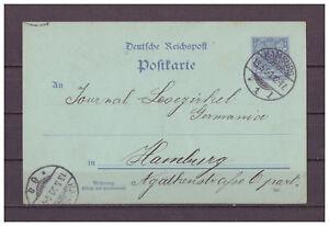 Deutsches-Reich-Ganzsache-P-40-innerhalb-Hamburg-13-05-1900-KGS