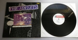 The Adverts - Live At The Roxy UK 1990 Receiver Records LP