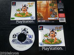 JEU-Sony-PLAYSTATION-PS1-PS2-HUGO-FROG-FIGHTER-enfants-COMPLET-envoi-suivi