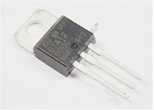 12A 12000MA 600V BTA12-600C 2 Stücke BTA12 Empfindlicher Triac BTA12-600 BIS sy