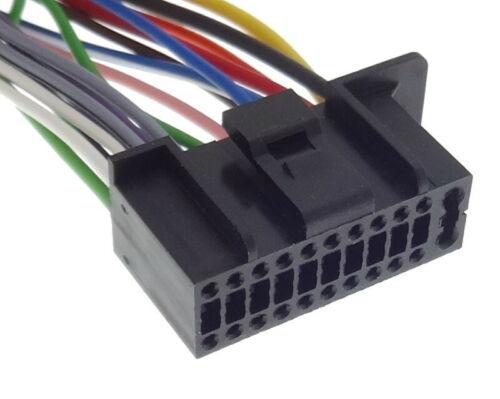 5 Autorradio Cable Adaptador de Radio Conector Iso Conexión Mazo Kenwood