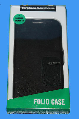 wholesale dealer 5815f 761fd carphone warehouse samsung galaxy s3 folio case - black 745883664856 | eBay