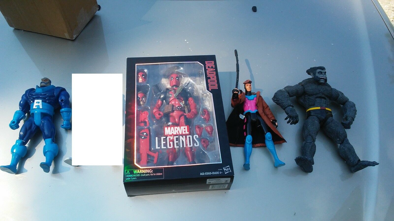 Marvel Legends 12 10 10 10 X-Men lot ICONS DEADPOOL BEAST 90s APOCALYPSE Gambit 6a74c1