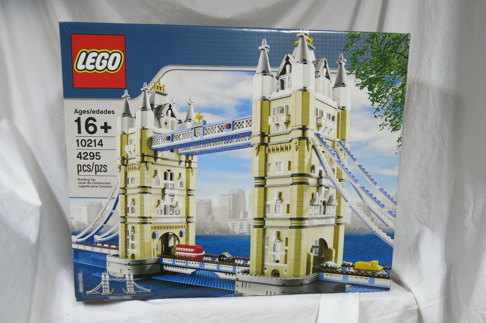 Lego Creator Tower Bridge 10214 NEW Factory SEALED ~ PERFECT Box Retirosso Set