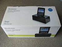 Brand Brookstone Idesign Power Speaker Stereo For Ipad / Ipod Touch & Iphone