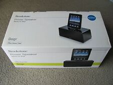 Brand New Brookstone iDesign Power Speaker Stereo for iPad / iPod touch & iPhone