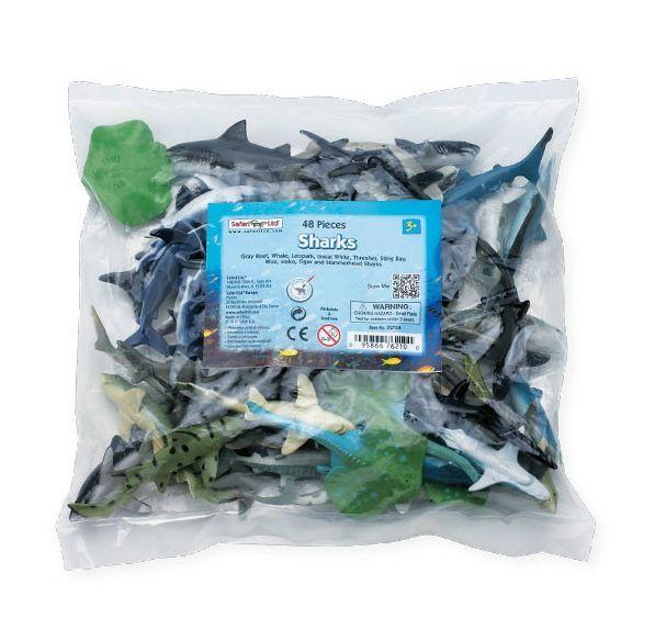 SHARKS Bulk Bag  USA w SAFARI. Ltd. Products