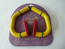 Cinelli spinaci handlebar extensions yellow red for Vintage Road Bicycle NOS
