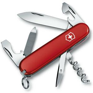 Victorinox Sportsman Red Medium Pocket Swiss Army Knife/Tool w/ Nail File