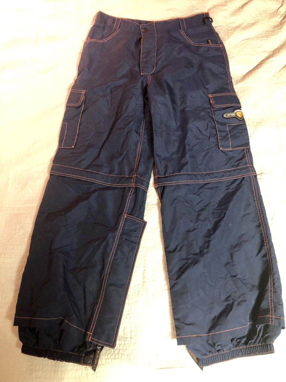 Coldwave Freestyle Snow Pants Size 36 blueee orange Trim