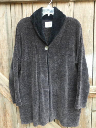 Margaret O'leary Size L Heavy Chenille Cape-Like C