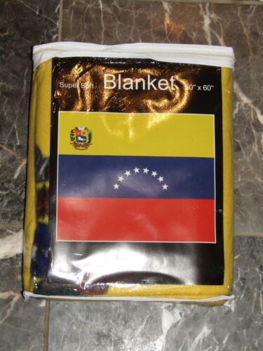 Venezuela 8 Star Flag 50x60 Polar Fleece Blanket Throw