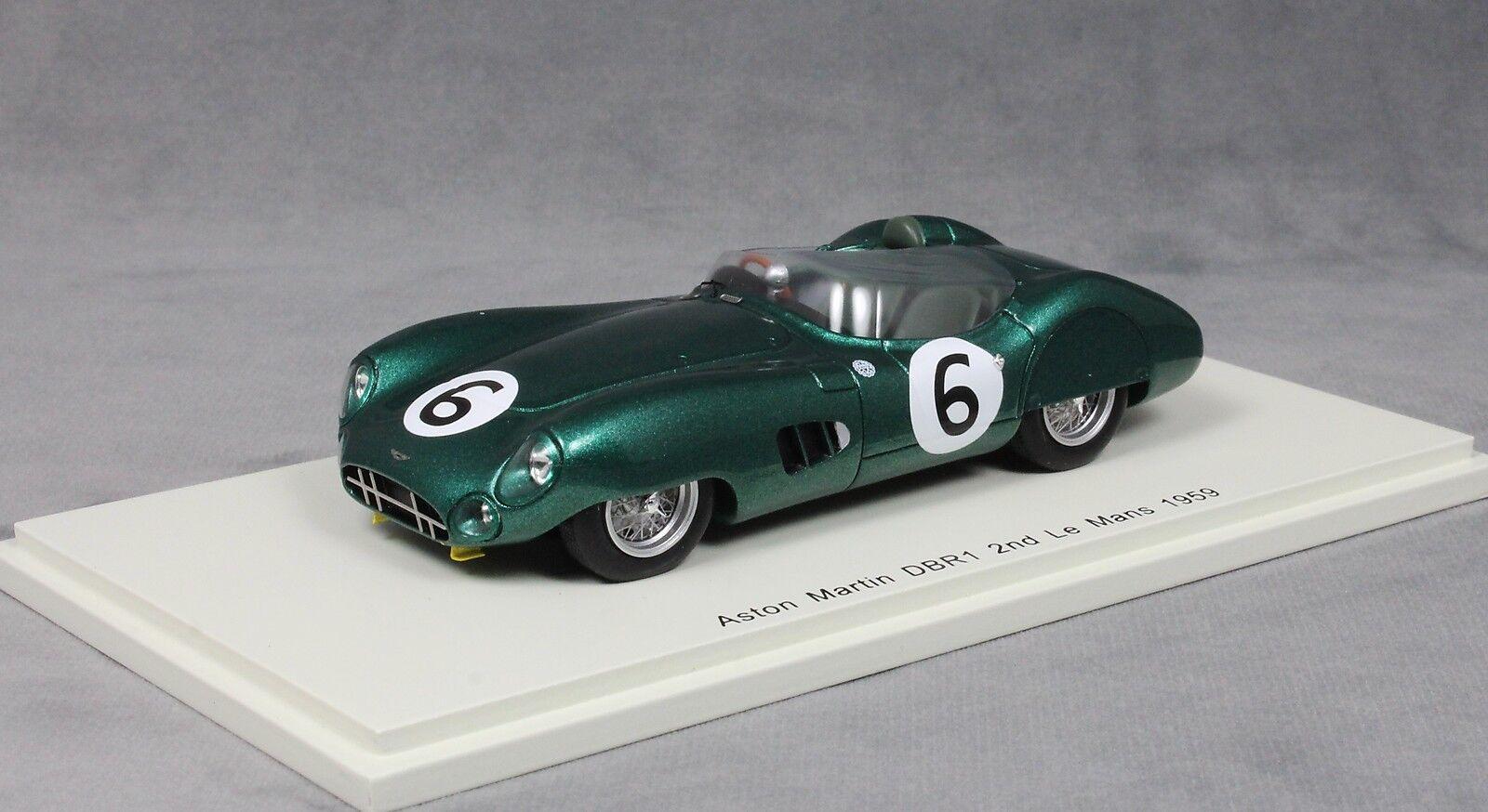 SPARK Aston Martin DBR1 2nd Le Mans 24 h 1959 Trintignant & FRERE S2439 1 43 NEUF