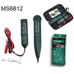 Telephone-Phone-Network-Cable-Wire-Line-RJ-Tracker-Toner-Tracer-Tester-with-Bag
