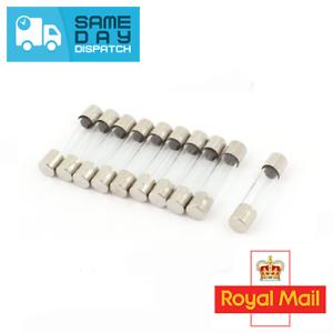 5mm x 20mm Axial Lead Slow-Blow Time-Delay Ceramic Fuse A 4 Amp T4AL250V