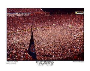 Details About Auburn Football 2013 Iron Bowl Celebration Scoreboard And Stadium Photo Print