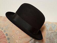 Original Borsalino Hut Gran Lusso schwarz Haarfilz Top Zustand Gentleman 60er