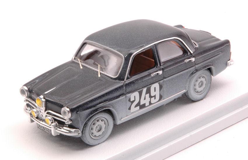 Alfa Romeo Giulietta  249 36th Monte voiturelo 1963  J. Nielsen H. Henriksen 1 43 RIO  achats de mode en ligne