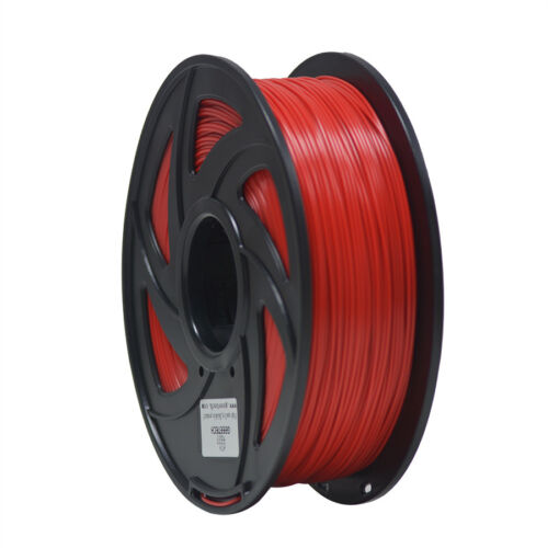 Duty Free! Geeetech 3D Filament 1.75mm PLA 1Kg/1Roll Red Color from UK Stock