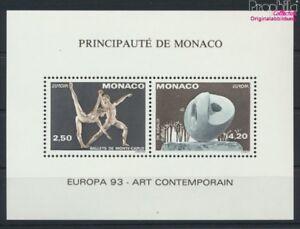 Monaco-2120-2121S-kompl-Ausg-Sonderdruck-gezaehnt-postfrisch-1993-Z-9158000