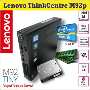 Lenovo-Thinkcentre-M92-Intel-Core-i5-3470T-2-90GHz-Wi-fi-Micro-PC-de-escritorio-Win7