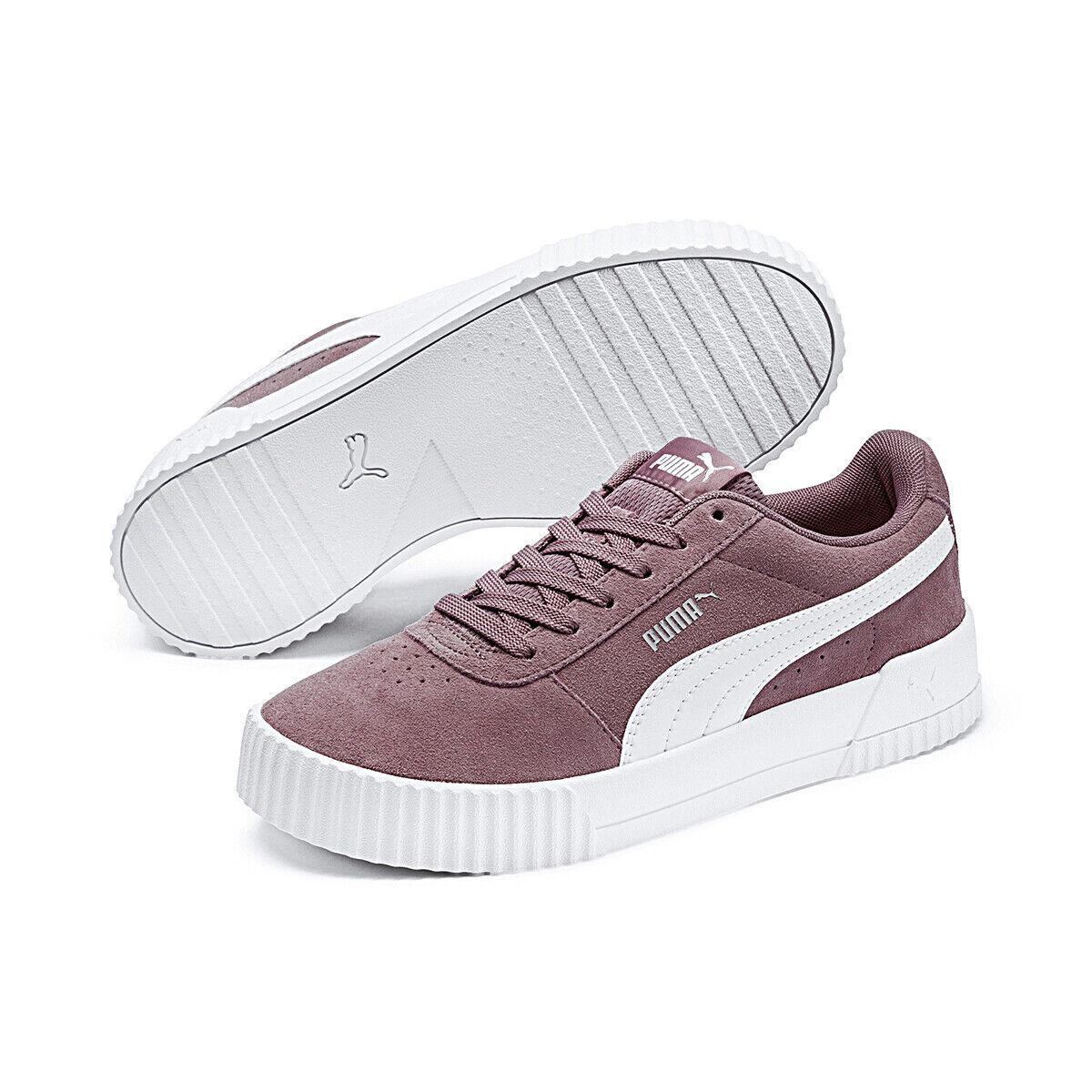 Puma Carina cortos cortos cortos señora Suede zapatos de gamuza 369864 03  tienda de venta
