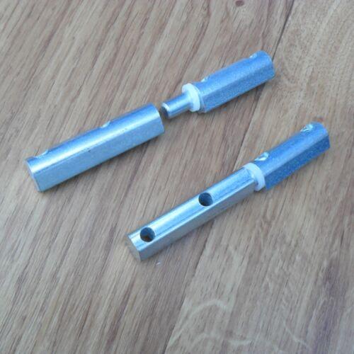 Anschraubband einbohrband 11 mm möbelband Türband Acier Galvanisé
