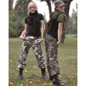 US-BDU-HOSE-Damen-R-S-PREWASH-Tarnhose-Military-Cargohose-Outdoor-Army-Woman