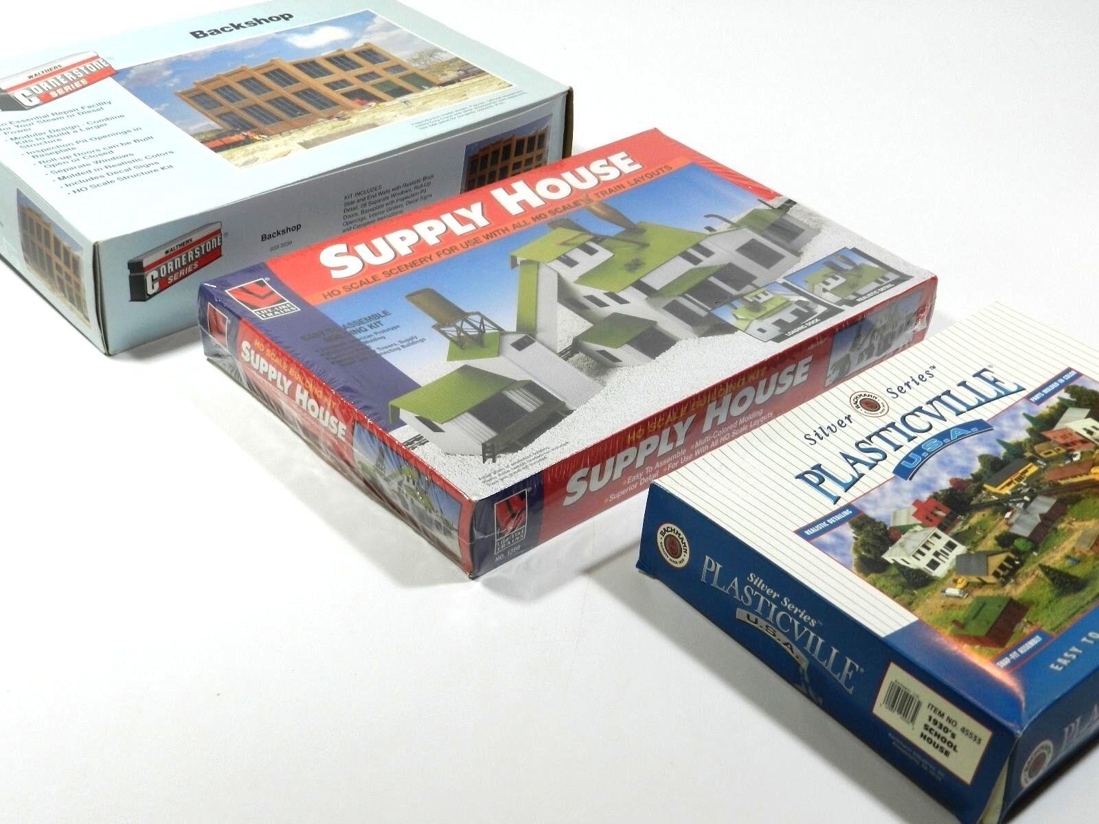 Train Building Kit HO Scale Lot
