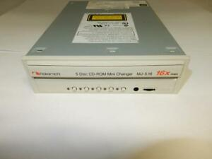 Nakamichi-5-Disc-CD-ROM-Mini-Changer-16X-MJ-5-16-50-Pin-SCSI-Interface