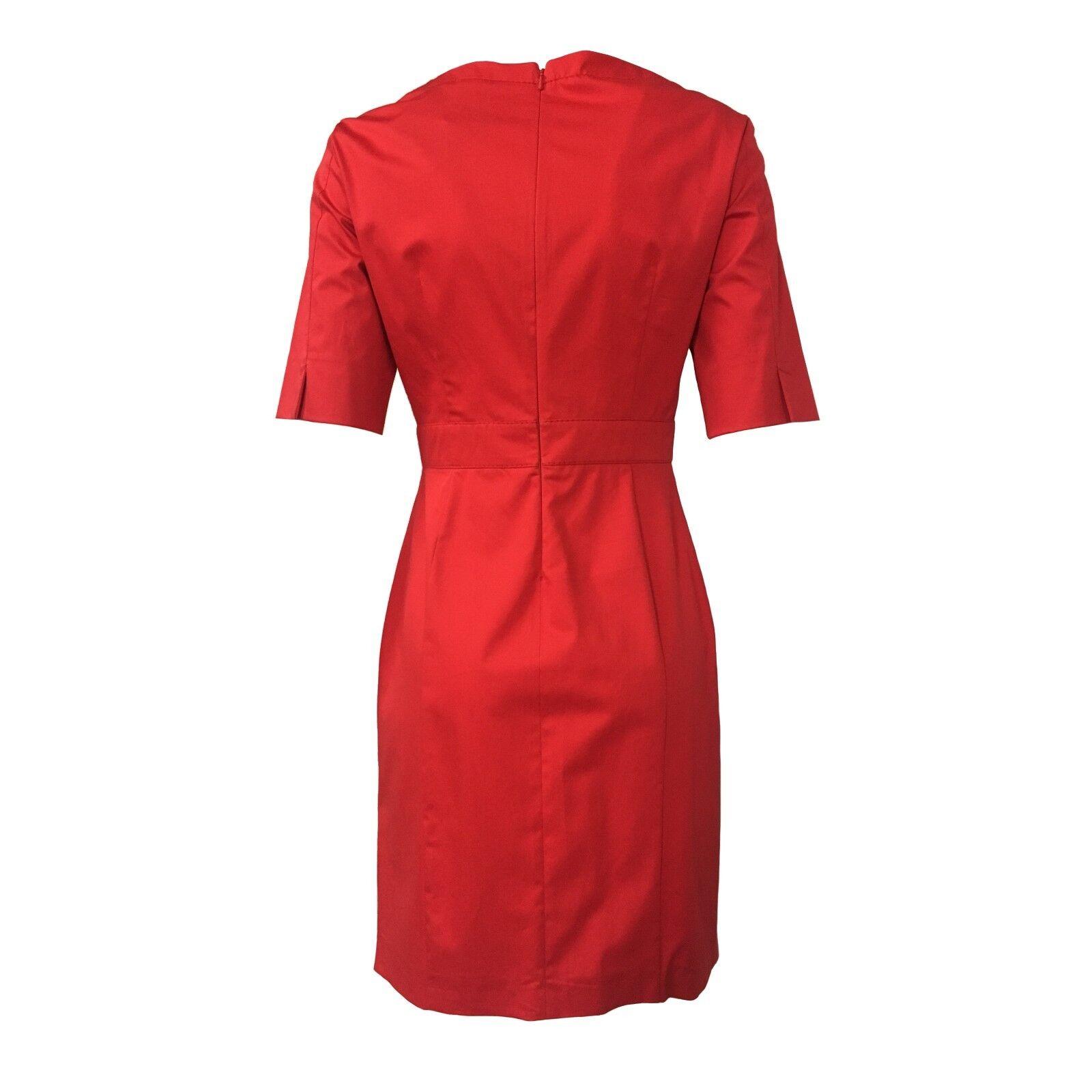 4e544b37236b ... PENNYnero PENNYnero PENNYnero abito donna rosso mezza manica mod  MAQUETTE 96% cotone 4% elastan ...