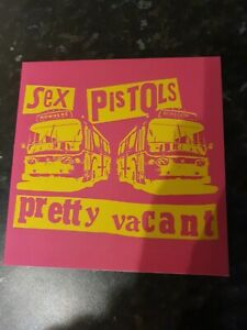 The Sex Pistols 7inch Pretty Vacant Excellent Condition