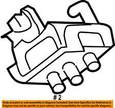 ford oem engine torque strut mount 6l2z6031ba ebay Strut Bearing ford oem engine motor mount torque strut 6l2z6031ba
