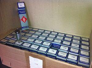 100x TUBES 1T4 Radiotechnique RTC DF91 2 BOXES NOS - Röhre lampe Radio Amp Audio