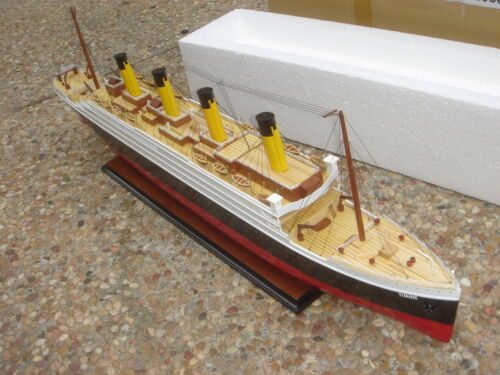 "Titanic high quality wooden model cruise ship 40/"" fully assembly"