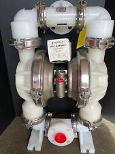 Nos Wilden 2 Kynar Chemical Diaphragm Pump New Unused