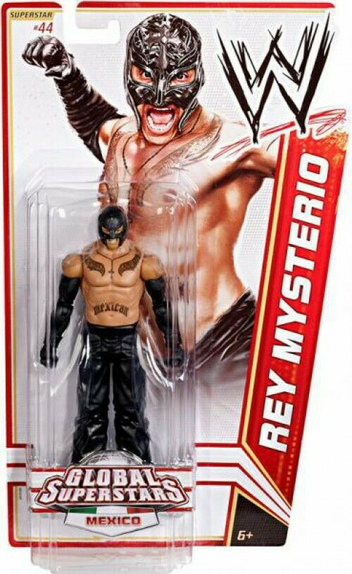 WWE Wrestling Series 20 Rey Mysterio Mysterio Mysterio Action Figure  44 a28be5