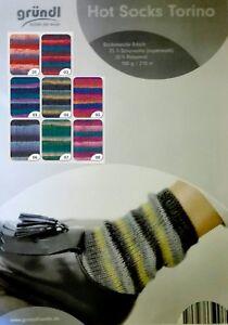 Wollallergiker vegan 4-fach filzfrei 026 P39 100g Sockenwolle Sensitive Socks f