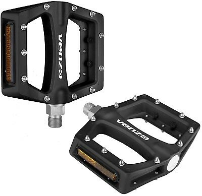 Wellgo C1DU Alloy Metal Mountain Road Bike Bicycle MTB BMX Flat Pedals 9//16 /'/'